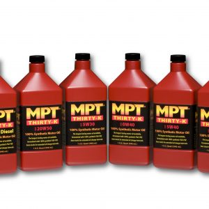 High Performance Thirty-K Motor Oils